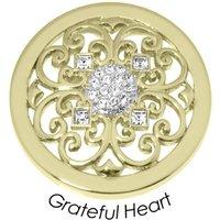 Quoins Anhänger - Grateful Heart - QMB-56M-G