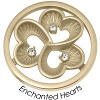 Quoins Anhänger - Enchanted Hearts - QMB-59L-G