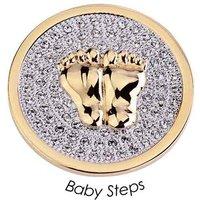 Quoins Charm - Baby Steps - QMOA-32L-G