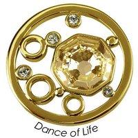 Quoins Anhänger - Dance of Life - QMOK-05L-G-GL