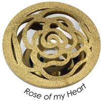 Quoins Anhänger - Rose of my Heart - QMOX-07L-G