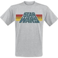 Star Wars Vintage 77 T-shirt gris chiné (39644)