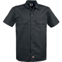 Dickies Short Sleeve Work Shirt Kurzarmhemd schwarz