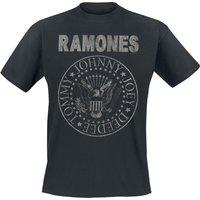 Ramones Hey Ho Let`s Go - Vintage T-Shirt schwarz
