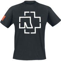 Rammstein Logo T-Shirt schwarz