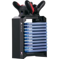 'Numskull Sony Playstation 4 Ps4 Games Storage Tower + Dual Charger Accessories Multicolor