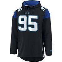 NFL Carolina Panthers Kapuzenjacke schwarz