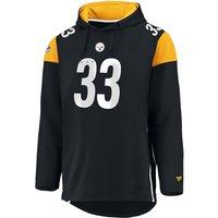 NFL Pittsburgh Steelers Kapuzenjacke schwarz