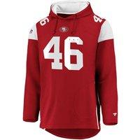 NFL San Francisco 49ers Kapuzenjacke rot