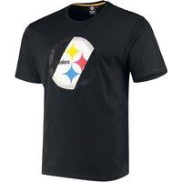 NFL Pittsburgh Steelers T-Shirt schwarz