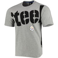 NFL Pittsburgh Steelers T-Shirt grau