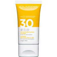 Clarins Invisible Sun Care Gel-to-Oil for Face SPF30 50ml