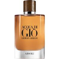 Giorgio Armani Acqua di Gio Pour Homme Absolu Eau de Parfum Spray 125ml