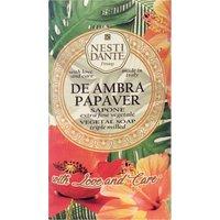 Nesti Dante With Love and Care De Ambra Papaver Soap 250g