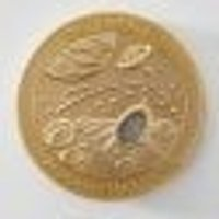 Meteoriten-Medaillie