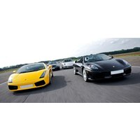 Junior Double Supercar Driving Thrill With Hot Lap - Thrill Gifts