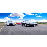 Click to view details and reviews for Four Supercar Driving Thrill With Hot Lap.