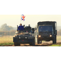 Click to view details and reviews for Alvis Cvr T Spartan Tank Driving Experience.