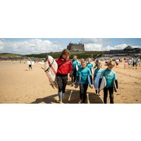Group Surfing Lesson with Pizza & Prosecco - Prosecco Gifts