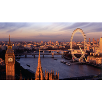 London Eye and Premier Plus Lunch Cruise for Two - Food Gifts