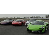 Double Platinum Supercar Driving Thrill With Hot Lap - Thrill Gifts