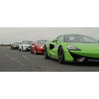 Four Platinum Supercar Driving Thrill With Hot Lap - Thrill Gifts