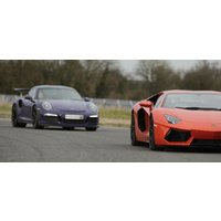 Double Ultra Platinum Supercar Driving Thrill With Hot Lap - Fathers Day Gifts