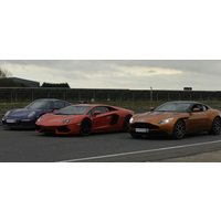 Triple Ultra Platinum Supercar Driving Thrill With Hot Lap - Thrill Gifts