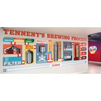 Tennent's Glasgow Beer Heritage Walking Trail for Two - Glasgow Gifts
