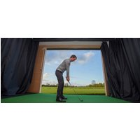 1 Hour Golf Simulator Experience in Cheshire - Days Out Gifts