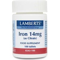 Lamberts Iron 14mg (as Citrate) 100