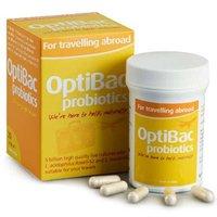 Optibac Probiotics Travelling Abroad 20 Capsules