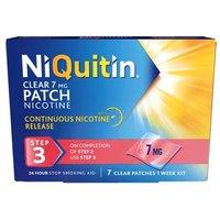 Niquitin CQ Clear Step 3 7mg 7 patches