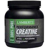 Lamberts Pure Creatine Monohydrate powder 500g