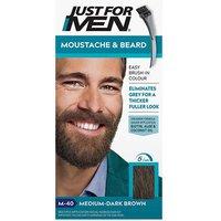 Just for Men Moustache and Beard - M40 Medium-Dark Brown