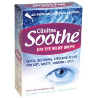 Clinitas Soothe Eye Drops 20 x 0.5ml