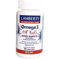 Lamberts Omega 3 Berry Bursts For Kids (100)