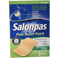 Salonpas Pain Relief Patch Plasters 3