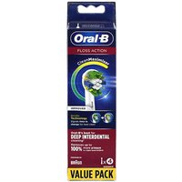 Oral-B Floss Action Replacement Brush Heads 4
