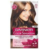 Garnier Color Sensation Intense Permanent Colour Cream 6.0 Precious light Brown