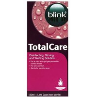 Total Care Disinfecting Storing and Wetting Solution 120ml
