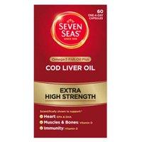 Seven Seas Maximum Strength Cod Liver Oil Capsules 30
