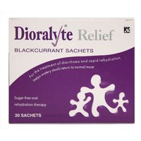 Dioralyte Relief Blackcurrant Sachets 20