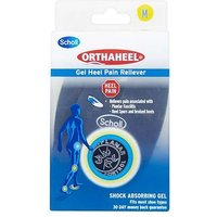 Scholl Orthaheel Gel Heel Pain Reliever 1 Pair (medium)