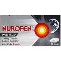 Nurofen Pain Relief 256mg Caplets 16