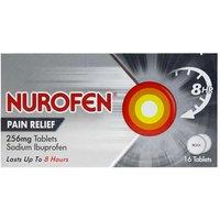 Nurofen pain relief 256mg 16 tablets