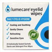 Lumecare Eyelid Wipes 20