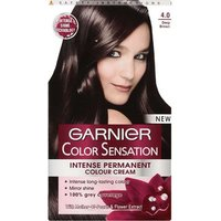 Garnier Colour Sensation Intense Permanent Colour Cream - 4.0 Deep Brown