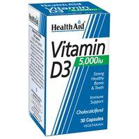 HealthAid Vitamin D3 5,000iu 30 Vegicaps