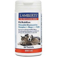 Lamberts Pet Nutrition Chewable Glucosamine Complex For Dogs & Cats 90 Tablets